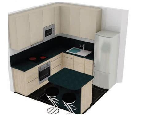 cuisine de 6m2 cuisine 6m2 avec ilot top cuisine