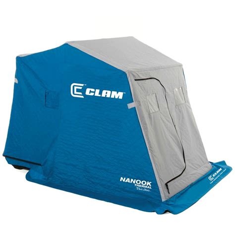 Clam Fish Trap Nanook Thermal 2person Ice Fishing Shelter