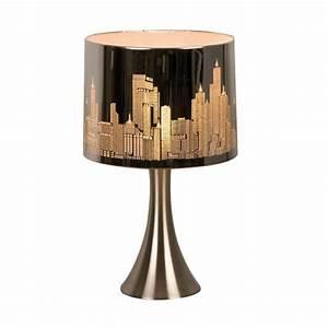 Lampe De Chevet Tactile Conforama : lampe chevet tactile new york argent e sur lampe avenue ~ Melissatoandfro.com Idées de Décoration