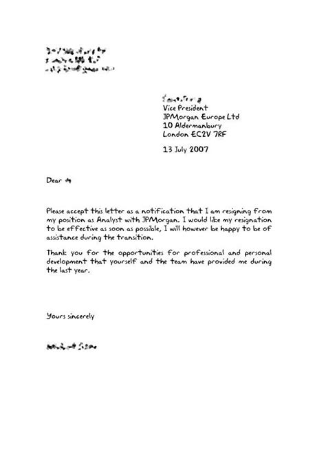 resignation letter ideas  pinterest