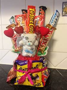 Me, Mitch, Monty and Munchables: Valentine's Chocolate Bouquet