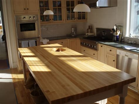 edge grain wood countertops  butcher blocks brooks custom