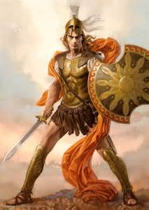 held fan achilles the peerless warrior concept