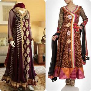 Ayesha Name Design Angrakha Style Frocks And Shirts Design Collection For