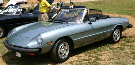 1982 Alfa Romeo Spider  Information And Photos Momentcar