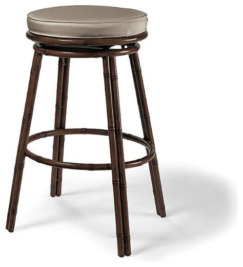 st martin tiki outdoor bar stool with cushions