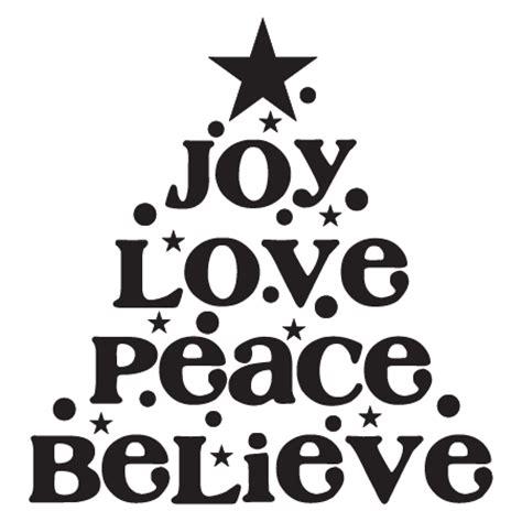 joy love peace tree wall quotes decal wallquotescom