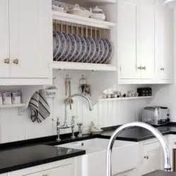 Kitchen Faucet Bridge Kvanum Kitchens White Kitchen Cabinets Glossy Black Quartz Countertops Farmhouse Sink