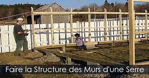 Fabriquer Une Serre En Bois : comment construire une serre de jardin structure d 39 une serre ~ Melissatoandfro.com Idées de Décoration