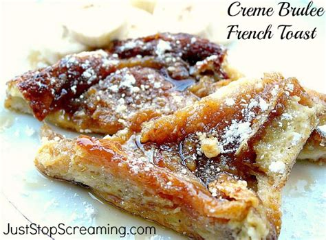 creme brulee toast creme brulee french toast quickfixcasseroles