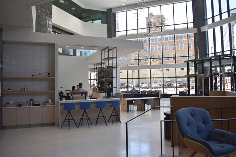 State st., on the first floor of the vantage on the park apartments. Peace Coffee opens third downtown Mpls. location - StarTribune.com
