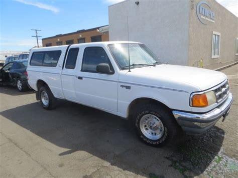 ford ranger xlt     manual pickup truck