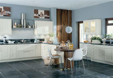 Kitchen Splashback Tiles Ideas - white cream and ivory kitchen cupboards