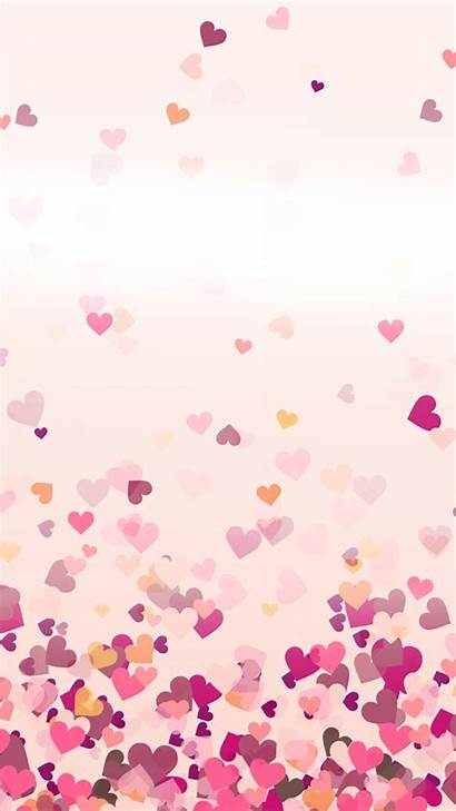 Hearts Heart Phone Wallpapers Iphone Fell Mobile
