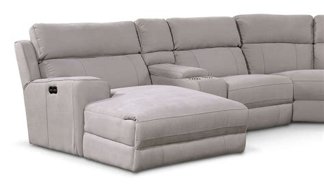 power reclining sectional sofa with chaise newport 6 piece power reclining sectional with left facing