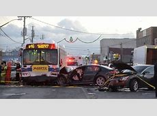 MTA bus crash injures at least 23 people in Brooklyn NY