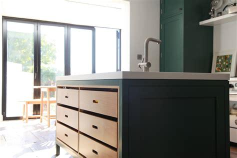 bespoke kitchen islands green shaker kitchen 1593