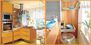 Yellow And Turquoise Color Combination For Small Kitchen