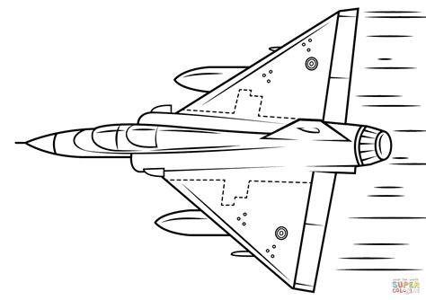 Jsf Kleurplaat by Mirage 2000 Coloring Page Free Printable Coloring Pages