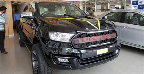 dealer modified ford endeavour   total brute   suv