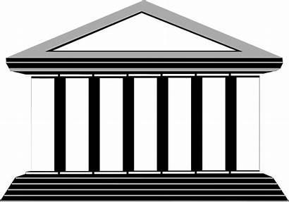 Columns Column Clip Roman Clipart Building Greek