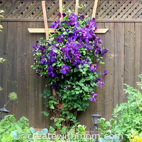 diy horizontal fence create with a trellis diy project
