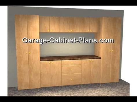 garage storage cabinet plans youtube
