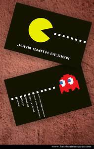 Comment faire de belles cartes de visite for Game artist business cards