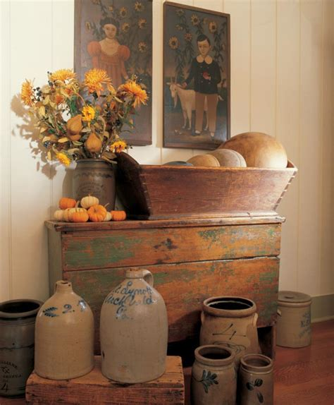 Ideas For Decorating With Primitives Folk Art Old