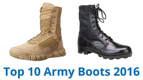 Army Semi Boot 10 best army boots 2016