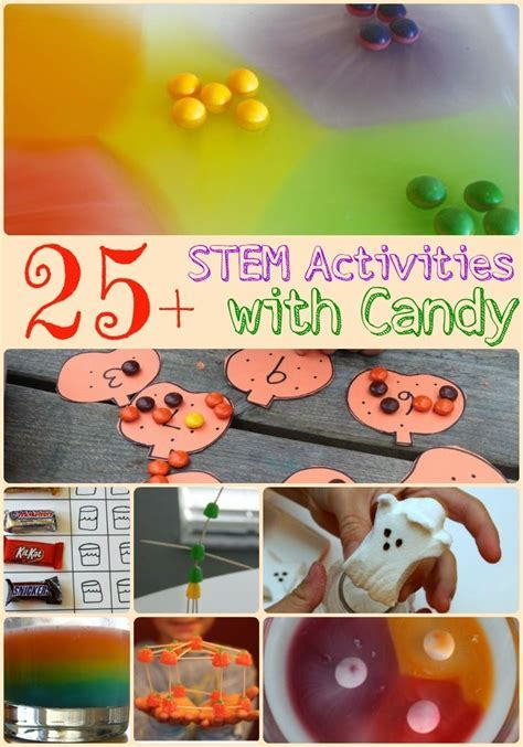 Candy Science Experiments and Candy Math Games ? The