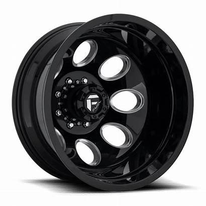 Fuel Lug Wheels Rear Dually Custom Gloss