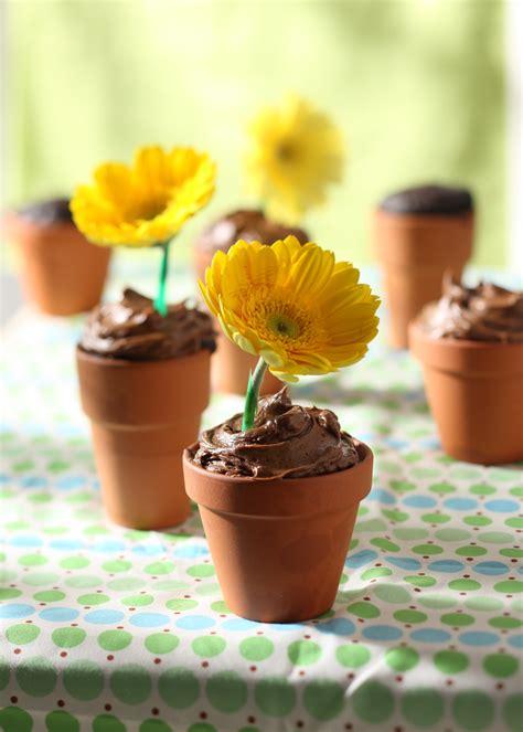 adorable diy chocolate flowerpot cakes recipe relish