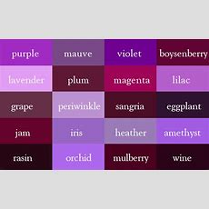 """It's """"wine"""", Not Dark Red  Here Are The Correct Names Of"""