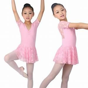 Kids Girl Baby Leotard Ballet Dress Skating Tutu Skirt ...