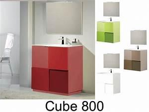 Meuble Salle De Bain A Poser : meubles lave mains robinetteries meuble teck meuble salle de bain en 80 cm poser au sol ~ Teatrodelosmanantiales.com Idées de Décoration