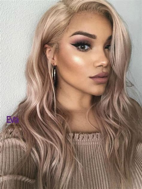 stunning ash blonde hair color