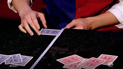 Card Trick Gifs Tricks Giphy Americasgottalent Agt