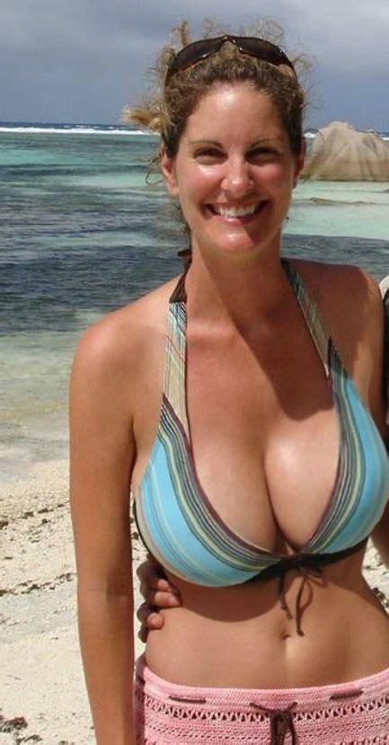 Bikini Saggy Nn Busty And Slim Milf Amateur With Amazingly Big Tits Big Breasts Non Nude