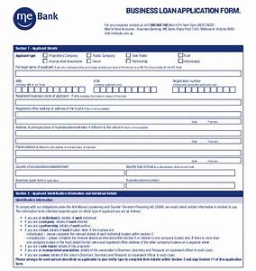15 application templates free sample example format With commercial loan application template