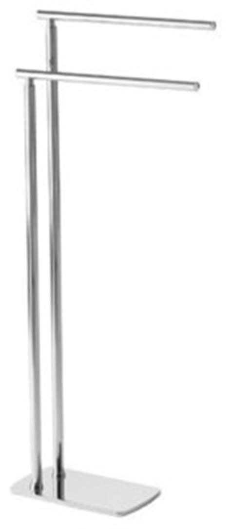 Gedy - Floor Standing Chrome Double Towel Rack - View in