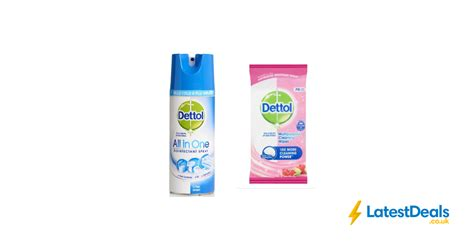 IN STOCK - Dettol Anti-Bacterial Wipes £3.50 & Dettol