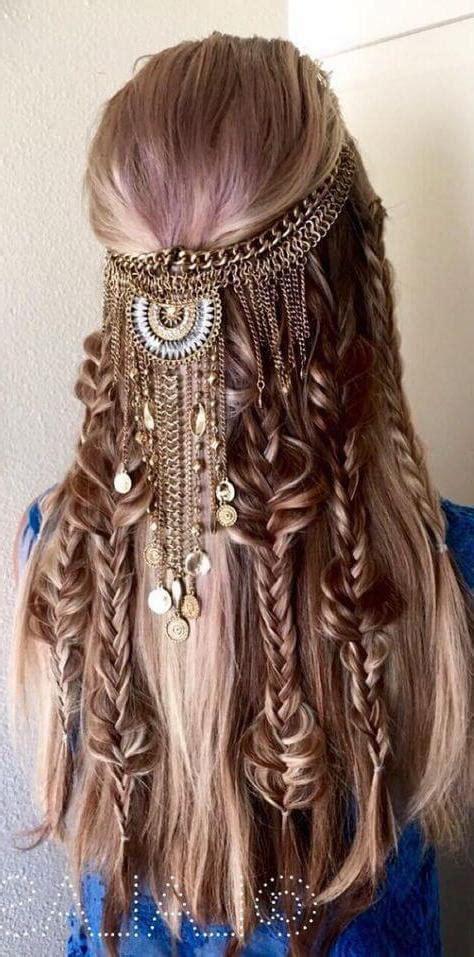 Ejemplos de peinados hippies fáciles de hacer 2017