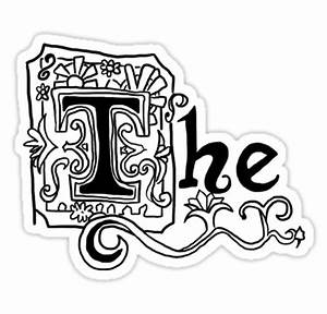 """The - Spongebob Squarepants"" Stickers by theemibee"