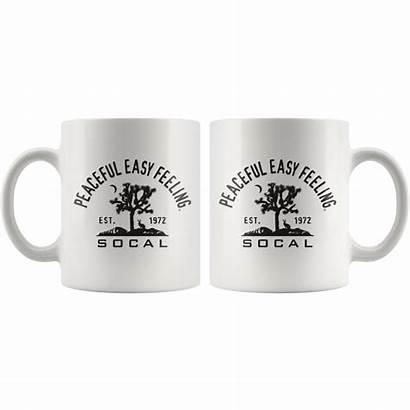 Peaceful Easy Feeling Cactus Mug Mugs Tea