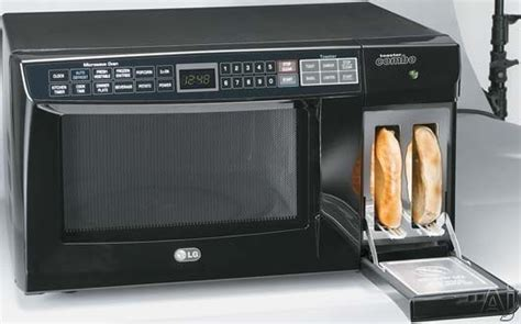 lg toaster combo lg ltm9020b 0 9 cu ft microwave toaster combo w 10