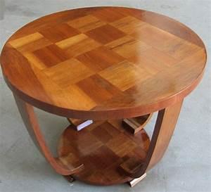 Table Basse Art Deco : la table basse art d co apportera une touche unique votre int rieure ~ Teatrodelosmanantiales.com Idées de Décoration