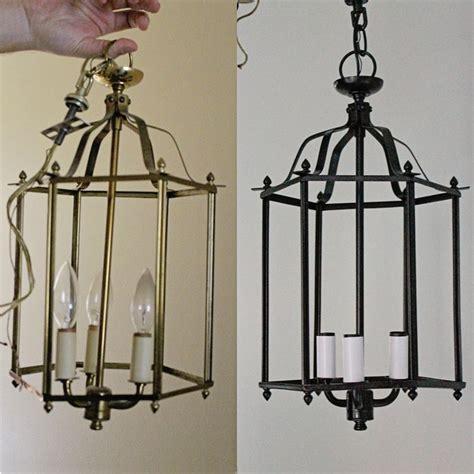brass  beautiful diy brass chandelier makeover diy