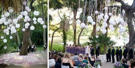 throw  backyard wedding decor green wedding