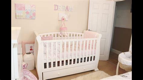 Baby Girl Nursery  Room Tour Youtube